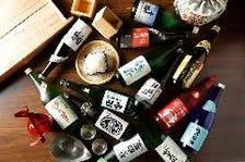 新潟県内の銘酒を種類豊富にご用意