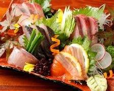 新潟 旬鮮魚の御造り盛り合わせ