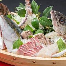 能登島の漁師直送!自慢の食材