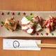 板長の趣味を凝らした様々な創作海鮮料理をご堪能できます。