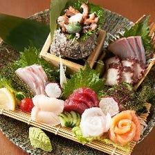 【毎日】県産新鮮魚介が食べられる
