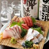 【豪華刺盛り】 全国各地から四季折々の鮮魚を厳選しご提供