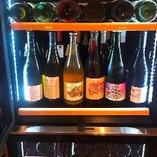 各国のワインが種類豊富