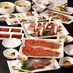 焼肉専科 肉の切り方 集会所  コースの画像