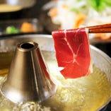 【レバ刺し・肉寿司も食べ放題】馬肉しゃぶしゃぶ食べ放題横綱プレミアムコース(90分)