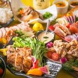【大満足の宴会コース】お得な2時間食べ放題コースは2500円~!