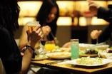2H飲み放題付き★リーズナブルで女子会に♪もちろん団体様の貸切も◎