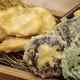 三島のオコゼとお野菜の天麩羅
