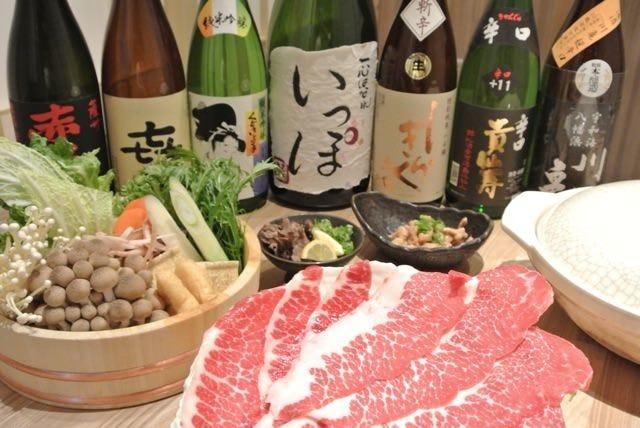 日本酒も盛り沢山