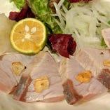 魚料理には自信あり!新鮮魚介に舌鼓。