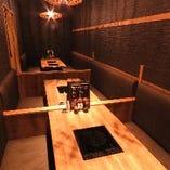 宴会用の完全個室もご用意しております。