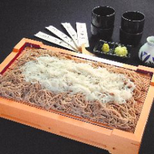 名物!北海道産そば粉の手打ち蕎麦