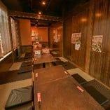 堀りごたつ席半個室(5~25名様)