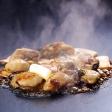 炙り牡蠣のバター醤油焼