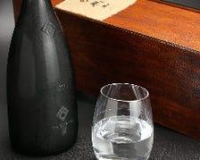 地酒、焼酎、プレミアムなお酒も豊富
