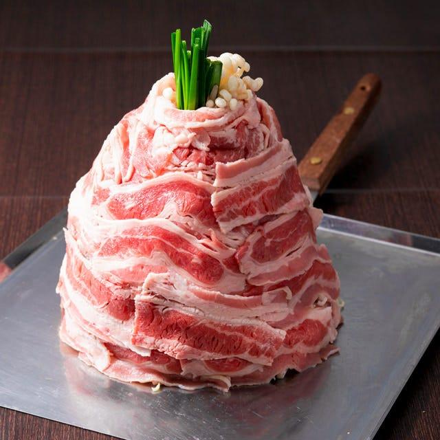 ▼名物!東京肉・肉タワー!