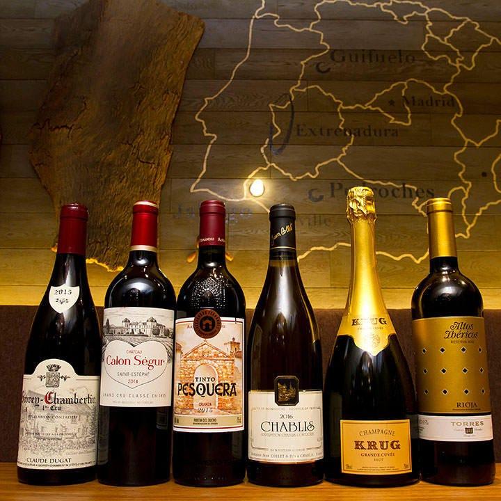 隠れ家で愉しむスペインワイン