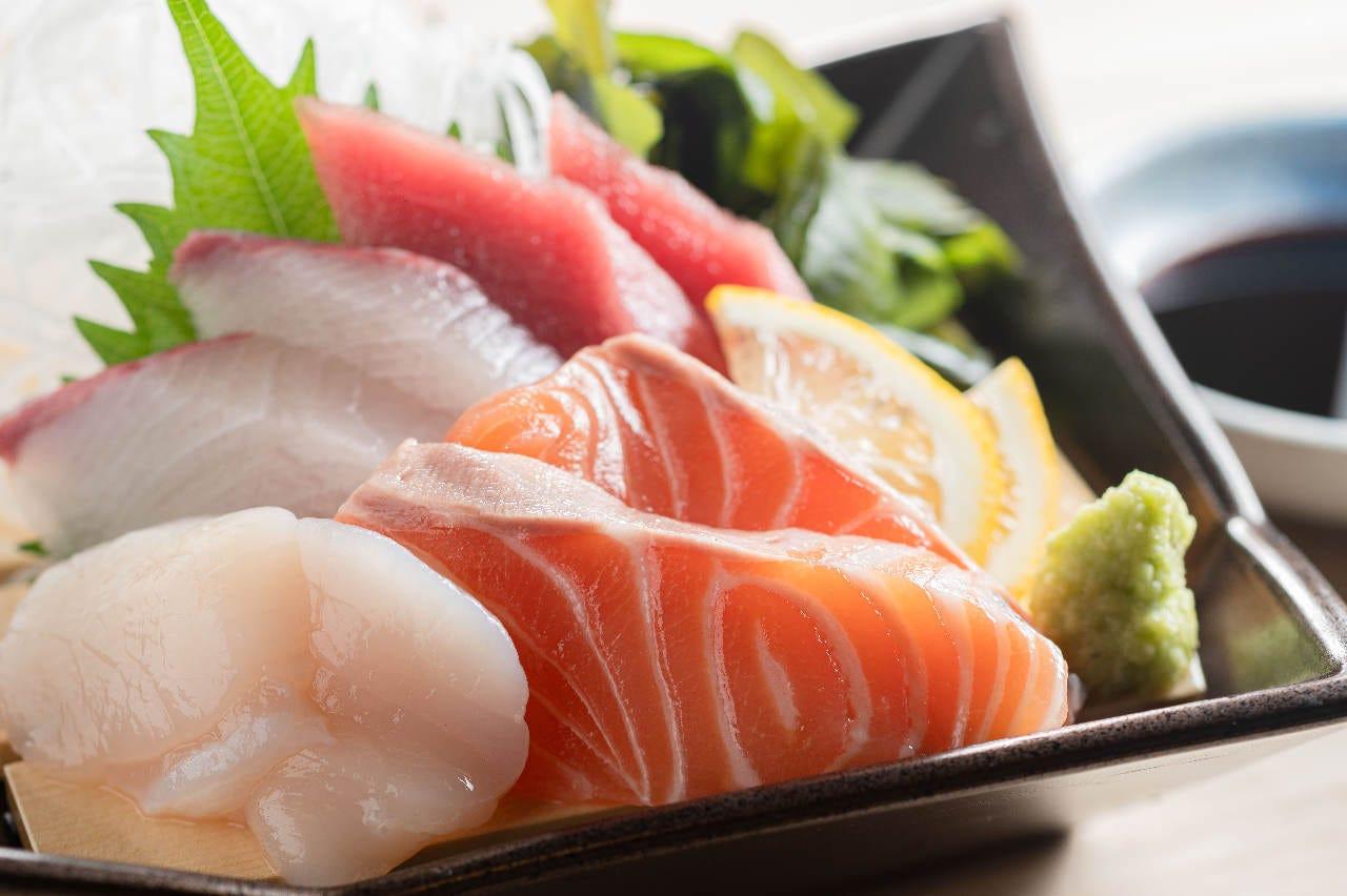 旬の新鮮魚介をご堪能ください