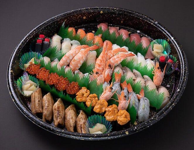 お寿司やオードブルなど、内容は用途によってお選びいただけます