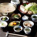 「女性限定水炊きランチ」 3500円(税・サ込)