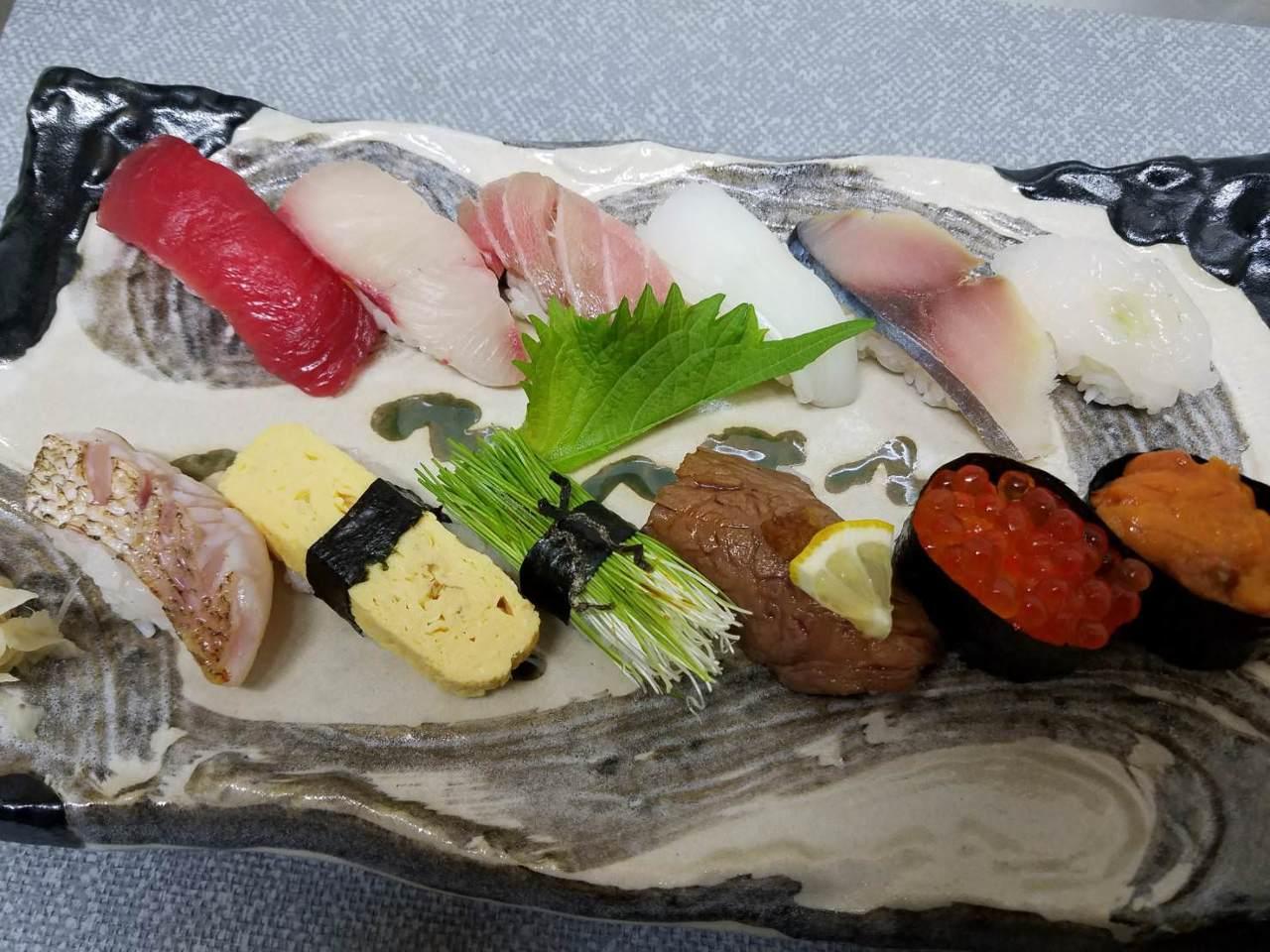 三河湾の海鮮を主とした本格寿司