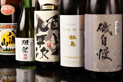 日本酒にこだわる/豊富なドリンク