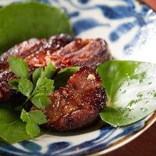 キビまる豚をはじめ厳選肉のメニュー