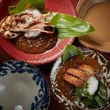 【琉球カレー】 スパイシーさと野菜の甘みが美味しい自慢の逸品