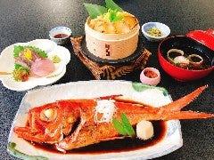 うんめぇもん祭り『あわびと姿煮の豊漁お祭り膳』