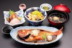 金目鯛の煮つけ祭『あわびと姿煮の豊漁お祭り膳』