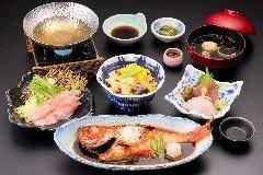 金目鯛の煮つけ祭『金目鯛と大漁魚貝の網元お祭り膳』