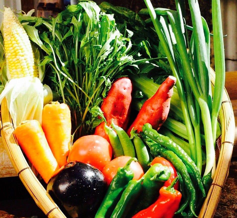 新鮮なこだわり京都産の野菜