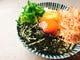 オレンジ卵の卵かけご飯
