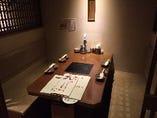 テーブル席(半個室)