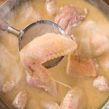 煮込むこと約10時間!秘伝のスープ
