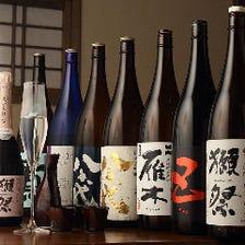 日本酒込み飲み放題(コース用)