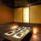 テーブルタイプの個室席!!2名様~ご利用可能な少人数個室です◎