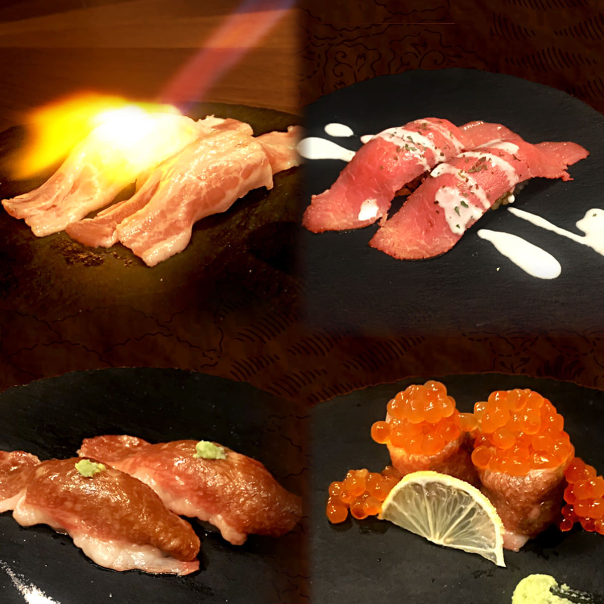 お一人様限定☆炙り肉寿司食べ放題