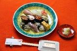 県鮨組合共同企画 百万石の鮨 おまかせ十貫