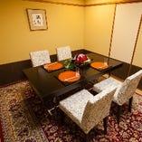 【個室でお食事】 高級感溢れる上質な和個室で会席料理に舌鼓