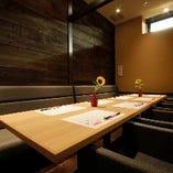 【完全個室】接待・合コン・誕生日会など周りを気にせずお食事とお酒をお楽しみできます。