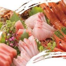 四季折々の新鮮な海鮮が堪能できる