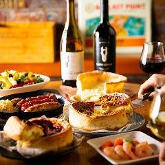 ドランクベアーズに来たからにはご賞味あれ!とろけるチーズ&ボリューム『シカゴピザ』