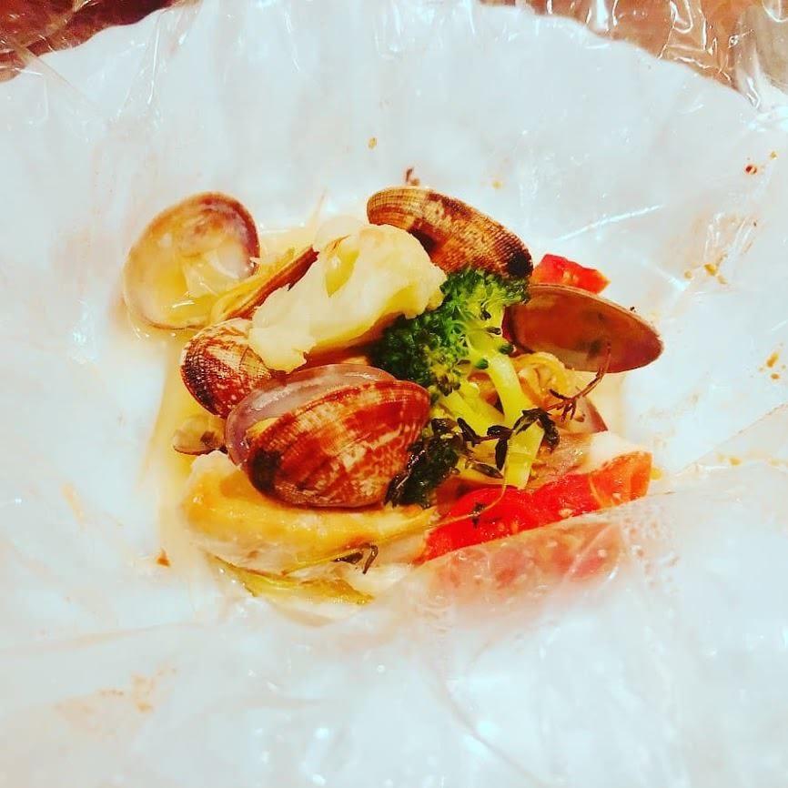 旬の鮮魚を包み焼き!イタリアンのご馳走カルトッチョ