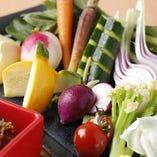 農薬不使用野菜の盛り合わせ