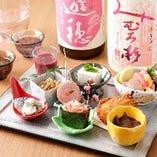 酒肴10種盛り合わせ(春)