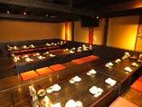企業様での歓送迎会や同窓会にも使える♪30名様~42名様用・大宴会場.