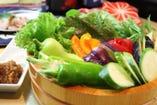 栃木県益子町「川田農園さん」の 農家直送の新鮮野菜たち