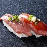 飛騨牛にぎり寿司 (2貫)