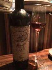 ソムリエがワインをセレクト致します